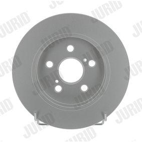 Bremsscheibe Bremsscheibendicke: 9mm, Lochanzahl: 5, Ø: 259mm mit OEM-Nummer 42431 12310