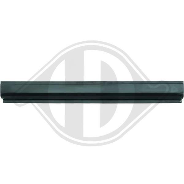 DIEDERICHS  9220501 Heckklappendämpfer / Gasfeder Länge über Alles: 500mm, Hub: 200mm