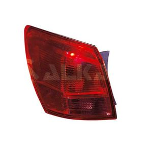 Combination Rearlight for left-hand/right-hand drive vehicles with OEM Number 26550JD000