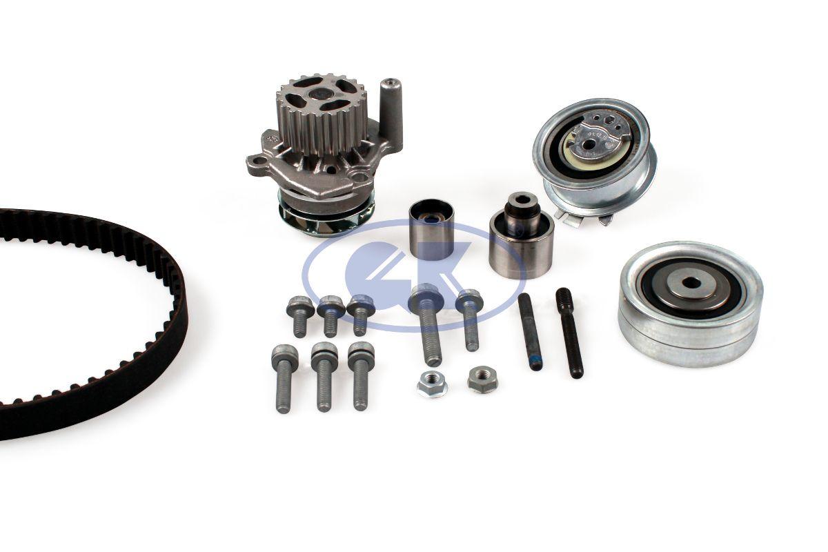 GK  K980293B Water pump and timing belt kit Width: 25mm