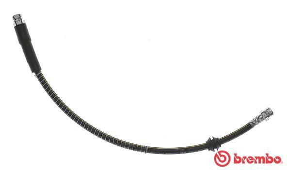 BREMBO  T 85 122 Bremsschlauch Länge: 525mm, Gewindemaß 2: F10X1