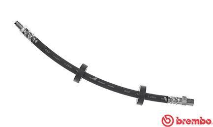 BREMBO  T 85 106 Bremsschlauch Länge: 295mm, Gewindemaß 1: F10X1, Gewindemaß 2: M10X1SX