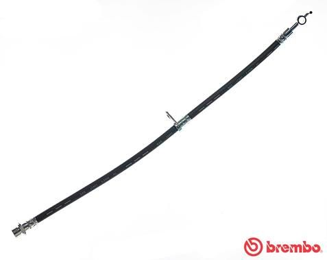 BREMBO  T 83 092 Bremsschlauch Länge: 540mm, Gewindemaß 1: F10X1, Gewindemaß 2: 10