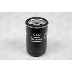 CHAMPION Ölfilter C183/606 für AUDI 80 (8C, B4) 2.8 quattro ab Baujahr 09.1991, 174 PS