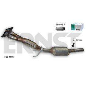 Touran 1T1, 1T2 1.6 Katalysator ERNST Set 759106 (1.6 Benzin 2010 BSF)