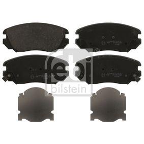 Bremsbelagsatz, Scheibenbremse Breite: 59,7mm, Dicke/Stärke 1: 18,7mm mit OEM-Nummer 1605 624