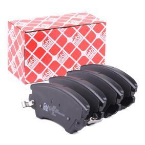 Bremsbelagsatz, Scheibenbremse Breite: 66,6mm, Dicke/Stärke 1: 17,8mm mit OEM-Nummer 95 520 061