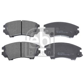 Brake Pad Set, disc brake Width: 66,6mm, Thickness 1: 17,8mm with OEM Number 9223 0269