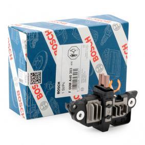 BOSCH Generatorregler F 00M A45 303 für AUDI A4 (8E2, B6) 1.9 TDI ab Baujahr 11.2000, 130 PS