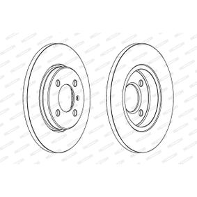 Bremsscheibe Bremsscheibendicke: 13mm, Lochanzahl: 4, Ø: 260mm mit OEM-Nummer 8671000085