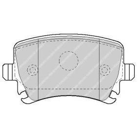 FERODO SL FSL1636 Bremsbelagsatz, Scheibenbremse Höhe: 55,5mm, Dicke/Stärke: 16,9mm