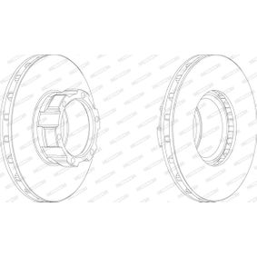 Bremsscheibe Bremsscheibendicke: 30mm, Lochanzahl: 6, Ø: 304mm mit OEM-Nummer 668 421 01 12