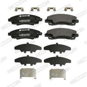 Bremsbelagsatz, Scheibenbremse Höhe 1: 66,9mm, Höhe 2: 62,5mm, Dicke/Stärke: 17,5mm mit OEM-Nummer 30715023