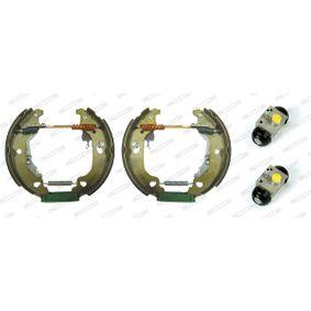 Brake Set, drum brakes FMK406 PUNTO (188) 1.2 16V 80 MY 2002