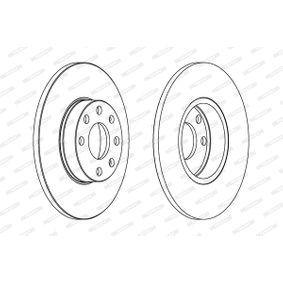 Bremsscheibe Bremsscheibendicke: 30mm, Lochanzahl: 5, Ø: 326mm mit OEM-Nummer 26300FE000