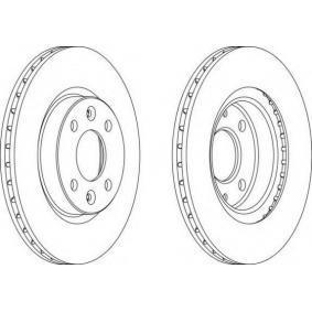 Bremsscheibe Bremsscheibendicke: 20.6mm, Lochanzahl: 4, Ø: 259mm mit OEM-Nummer 8200 171 765
