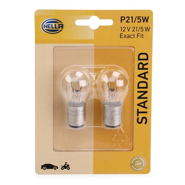 Lámpara 8GD 002 078-123 HELLA P215W12VB2 en calidad original