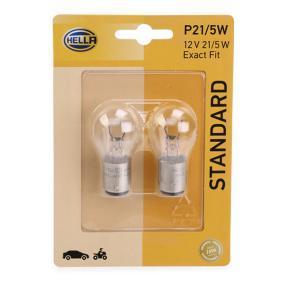 Bulb 12V 5W, P21/5W, BAY15d 8GD 002 078-123 FORD FOCUS, FIESTA, TRANSIT