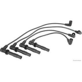 HERTH+BUSS ELPARTS  51278614 Ignition Cable Kit Copper, Silicone, Length: 280mm, Length: 350mm, Length 3: 480mm