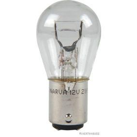 Glühlampe 12V 21/5W, P21/5W, BA15d 89901075 VW GOLF, PASSAT, POLO