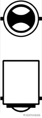 Bulb HERTH+BUSS ELPARTS 89901084 rating