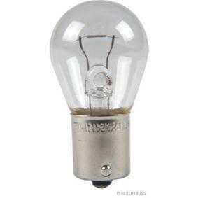 Bulb, indicator 24V 21W, P21W, BA15s 89901105