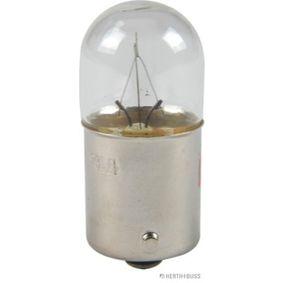 Крушка с нагреваема жичка, светлини на рег. номер R5W, BA15s, 24волт, 5ват 89901108