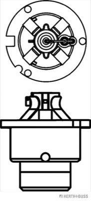 Glühlampe, Fernscheinwerfer HERTH+BUSS ELPARTS 89901220 Bewertung