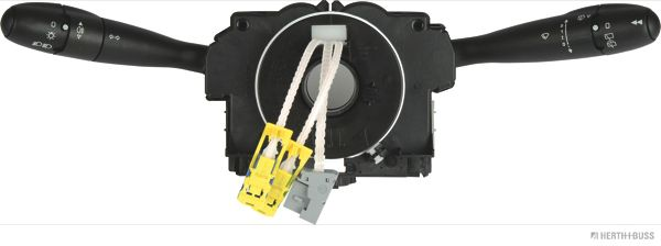 HERTH+BUSS ELPARTS  70477124 Steering Column Switch with headlight flasher, with high beam function, with indicator function, with light dimmer function, with rear fog light function, with rear wipe-wash function, with rear wiper function, with wipe interval function, with wipe-wash function, with wiper function