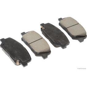 Bremsbelagsatz, Scheibenbremse Breite 2: 60,4mm, Dicke/Stärke 2: 17,3mm mit OEM-Nummer 58101 2MA00