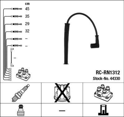 Zündkabelsatz NGK RCRN1312 0087295443309