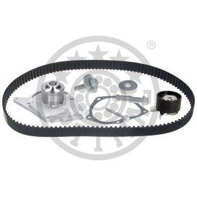 Wasserpumpe + Zahnriemensatz Breite: 27mm mit OEM-Nummer 16806 00 QBE