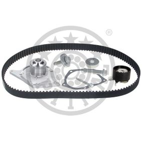 Water pump and timing belt kit Width: 27mm with OEM Number 1680600QBE