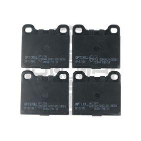 Bremsbelagsatz, Scheibenbremse Breite: 56,6mm, Dicke/Stärke: 15,5mm mit OEM-Nummer 310254042