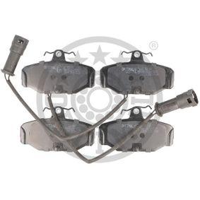 Bremsbelagsatz, Scheibenbremse Breite: 54mm, Dicke/Stärke: 13,7mm mit OEM-Nummer 6 185 119