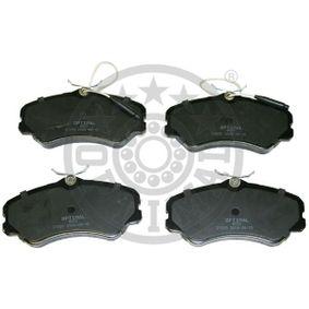Bremsbelagsatz, Scheibenbremse Breite: 71,6mm, Dicke/Stärke: 19,4mm mit OEM-Nummer 9 941 208