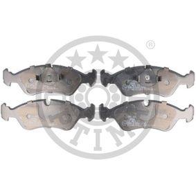 Bremsbelagsatz, Scheibenbremse Breite: 52,5mm, Dicke/Stärke: 17,5mm mit OEM-Nummer 1 605 808