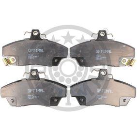 Bremsbelagsatz, Scheibenbremse Breite: 65,4mm, Dicke/Stärke: 18mm mit OEM-Nummer GBP90314