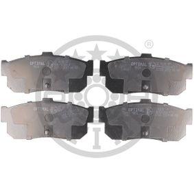 Bremsbelagsatz, Scheibenbremse Breite: 46,8mm, Dicke/Stärke: 16mm mit OEM-Nummer 440605M490