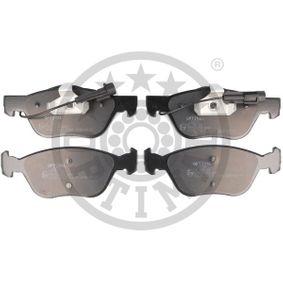 Bremsbelagsatz, Scheibenbremse Breite: 52,8mm, Dicke/Stärke: 15,2mm mit OEM-Nummer 1H0 615 415