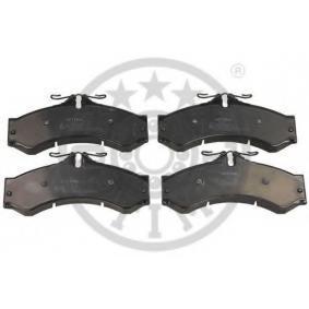 Bremsbelagsatz, Scheibenbremse Breite: 72,8mm, Dicke/Stärke: 20mm mit OEM-Nummer 000 421 7391