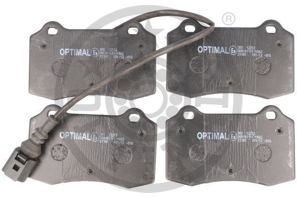 Bremsbeläge 12212 OPTIMAL 24143 in Original Qualität