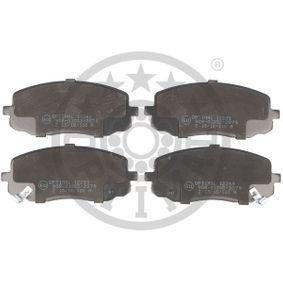 Brake Pad Set, disc brake 12283 Picanto (SA) 1.1 CRDi MY 2008