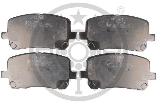 Bremsbeläge 12385 OPTIMAL 12385 in Original Qualität