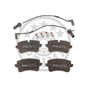 Bremsbelagsatz, Scheibenbremse Breite 1: 59,6mm, Dicke/Stärke: 17,4mm mit OEM-Nummer 4H0 698 451C