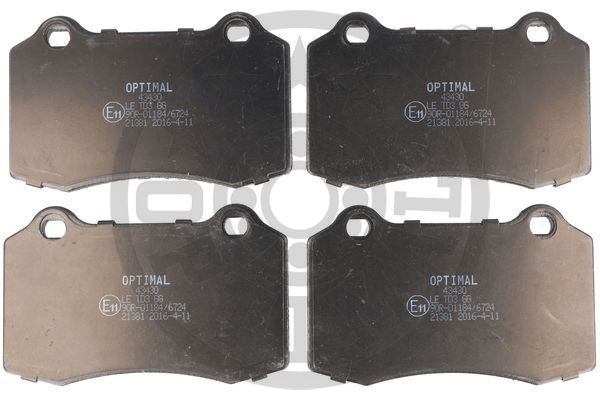Bremsbeläge 43430 OPTIMAL 21381 in Original Qualität