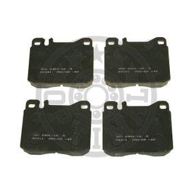 Bremsbelagsatz, Scheibenbremse Breite: 73,9mm, Dicke/Stärke: 17,5mm mit OEM-Nummer A001 420 75 20