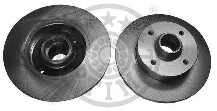 OPTIMAL  BS-0240 Bremsscheibe Bremsscheibendicke: 10mm, Ø: 226mm