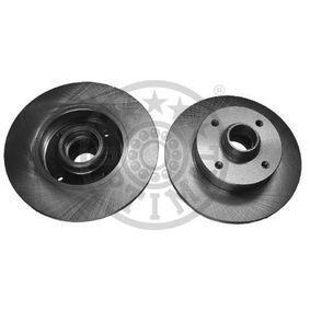 Bremsscheibe Bremsscheibendicke: 10mm, Ø: 226mm mit OEM-Nummer 6N0615601