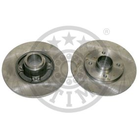Bremsscheibe Bremsscheibendicke: 8mm, Ø: 238mm mit OEM-Nummer 77 00 805 148